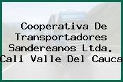 Cooperativa De Transportadores Sandereanos Ltda. Cali Valle Del Cauca