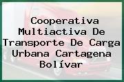 Cooperativa Multiactiva De Transporte De Carga Urbana Cartagena Bolívar