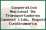 Cooperativa Nacional De Transportadores Copenal Ltda. Bogotá Cundinamarca
