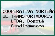 COOPERATIVA NORTEÑA DE TRANSPORTADORES LTDA. Bogotá Cundinamarca