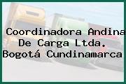 Coordinadora Andina De Carga Ltda. Bogotá Cundinamarca