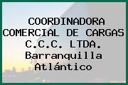 COORDINADORA COMERCIAL DE CARGAS C.C.C. LTDA. Barranquilla Atlántico
