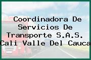 Coordinadora De Servicios De Transporte S.A.S. Cali Valle Del Cauca