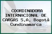 COORDINADORA INTERNACIONAL DE CARGAS S.A. Bogotá Cundinamarca