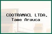 COOTRAMACL LTDA. Tame Arauca