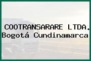 COOTRANSARARE LTDA. Bogotá Cundinamarca