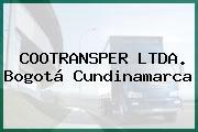 COOTRANSPER LTDA. Bogotá Cundinamarca