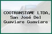 COOTRANSTAME LTDA. San José Del Guaviare Guaviare