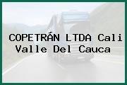 COPETRÁN LTDA Cali Valle Del Cauca