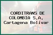 CORDITRANS DE COLOMBIA S.A. Cartagena Bolívar