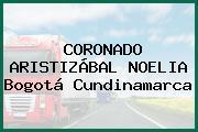 CORONADO ARISTIZÁBAL NOELIA Bogotá Cundinamarca