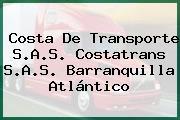 Costa De Transporte S.A.S. Costatrans S.A.S. Barranquilla Atlántico