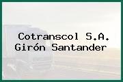 Cotranscol S.A. Girón Santander