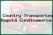 Country Transportes Bogotá Cundinamarca