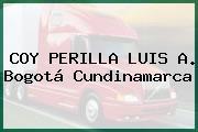 COY PERILLA LUIS A. Bogotá Cundinamarca