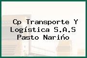 Cp Transporte Y Logística S.A.S Pasto Nariño
