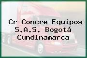 Cr Concre Equipos S.A.S. Bogotá Cundinamarca