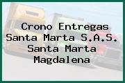 Crono Entregas Santa Marta S.A.S. Santa Marta Magdalena