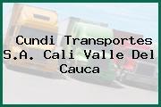 Cundi Transportes S.A. Cali Valle Del Cauca