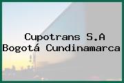 Cupotrans S.A Bogotá Cundinamarca