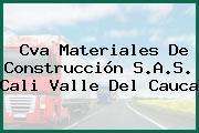 Cva Materiales De Construcción S.A.S. Cali Valle Del Cauca