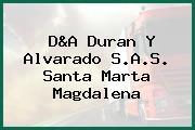 D&A Duran Y Alvarado S.A.S. Santa Marta Magdalena