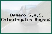 Damaro S.A.S. Chiquinquirá Boyacá