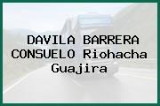 DAVILA BARRERA CONSUELO Riohacha Guajira