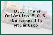 D.C. Trans Atlántico S.A.S. Barranquilla Atlántico