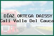 DÍAZ ORTEGA DAISSY Cali Valle Del Cauca