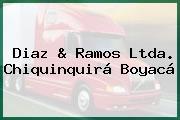 Diaz & Ramos Ltda. Chiquinquirá Boyacá