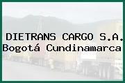 DIETRANS CARGO S.A. Bogotá Cundinamarca