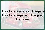 Distribución Ibagué Distribagué Ibagué Tolima