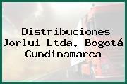 Distribuciones Jorlui Ltda. Bogotá Cundinamarca