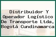 Distribuidor Y Operador Logístico De Transporte Ltda. Bogotá Cundinamarca