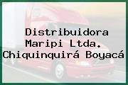Distribuidora Maripi Ltda. Chiquinquirá Boyacá