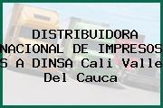 DISTRIBUIDORA NACIONAL DE IMPRESOS S A DINSA Cali Valle Del Cauca