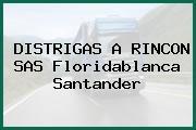 DISTRIGAS A RINCON SAS Floridablanca Santander