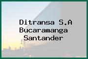 Ditransa S.A Bucaramanga Santander