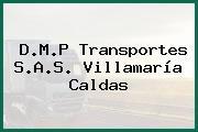 D.M.P Transportes S.A.S. Villamaría Caldas