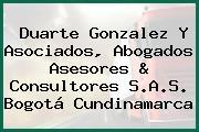Duarte Gonzalez Y Asociados, Abogados Asesores & Consultores S.A.S. Bogotá Cundinamarca