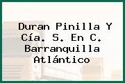 Duran Pinilla Y Cía. S. En C. Barranquilla Atlántico