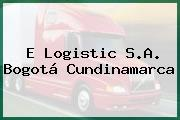 E Logistic S.A. Bogotá Cundinamarca
