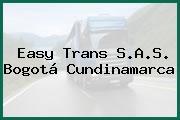 Easy Trans S.A.S. Bogotá Cundinamarca