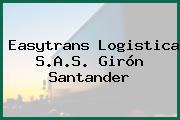 Easytrans Logistica S.A.S. Girón Santander