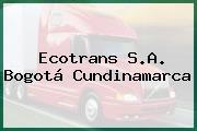 Ecotrans S.A. Bogotá Cundinamarca