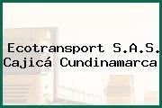 Ecotransport S.A.S. Cajicá Cundinamarca