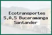Ecotransportes S.A.S Bucaramanga Santander