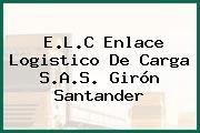 E.L.C Enlace Logistico De Carga S.A.S. Girón Santander