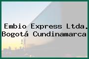 Embio Express Ltda. Bogotá Cundinamarca